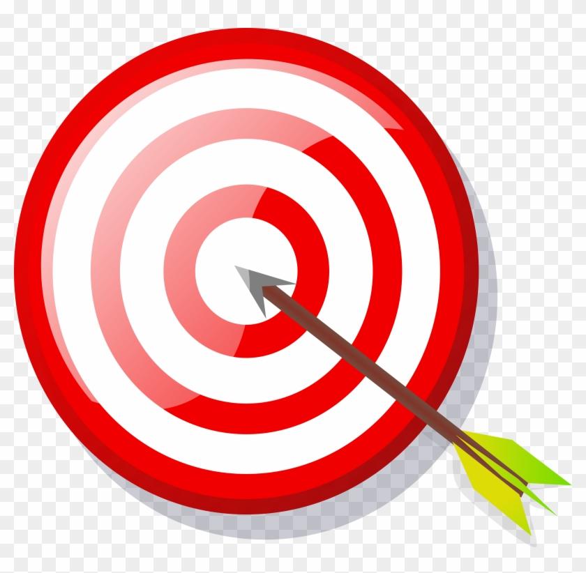 Arrow Icon Png - Target Clip Art Transparent Png #34290