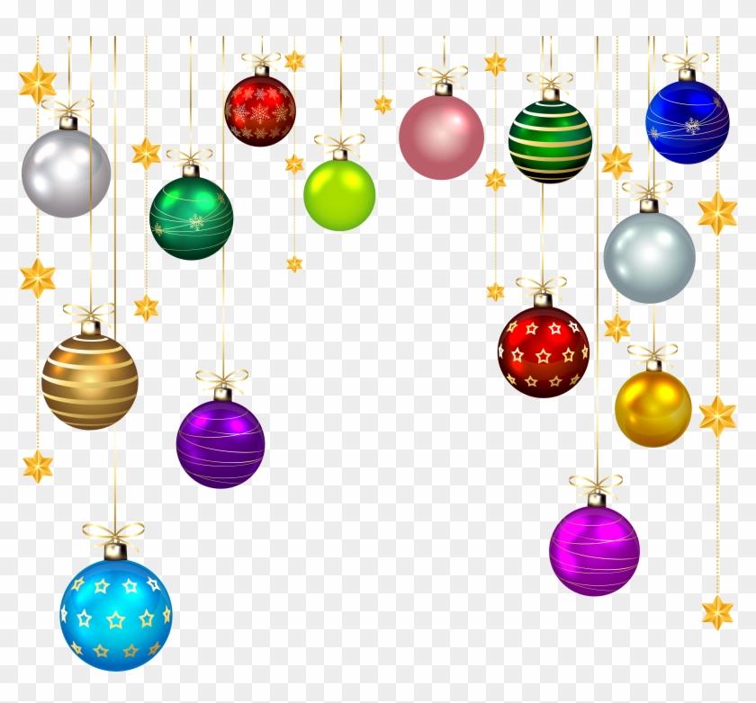 Christmas Decorations Png.Hanging Christmas Balls Decor Png Clip Art Imageu200b