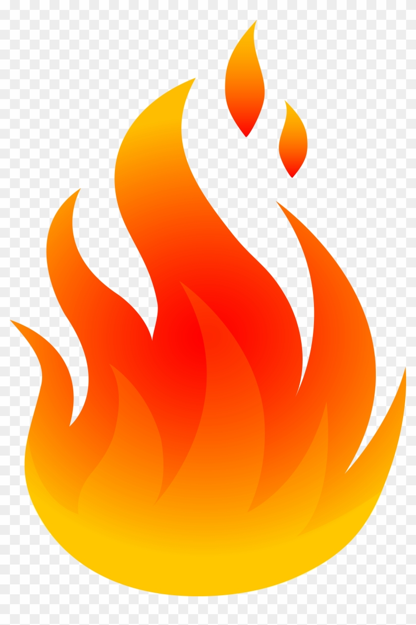 Flame - Clipart Flame - Png Download #35271