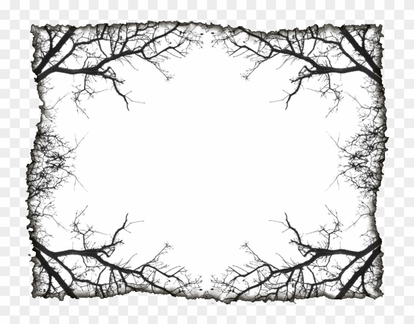 Spooky Clipart Border - Gothic Borders Png Transparent Png #39879