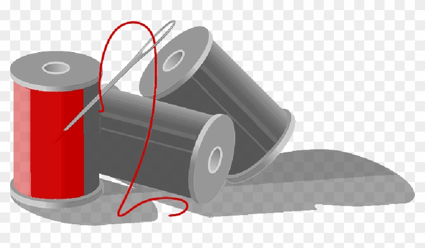 Needle And Thread Clip Art , Png Download - Needle And Thread Clip Art Transparent Png #300719