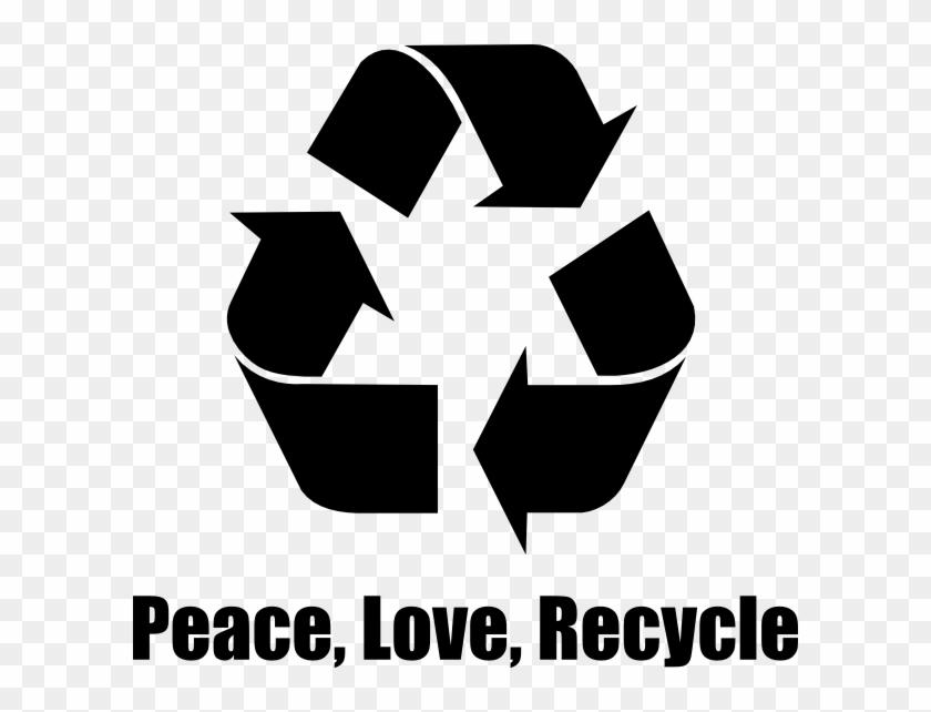 Original Png Clip Art File Peace, Love, Recycle Svg, Transparent Png #300746