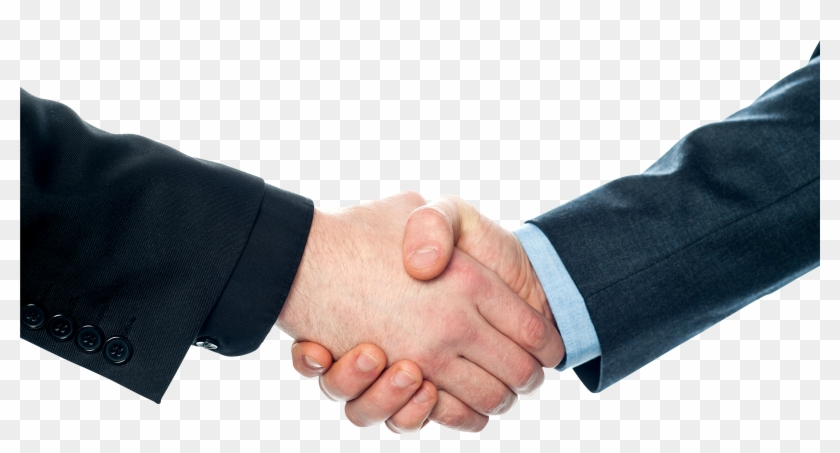 Business Handshake Png - Shaking Hands Business Png Clipart #303866