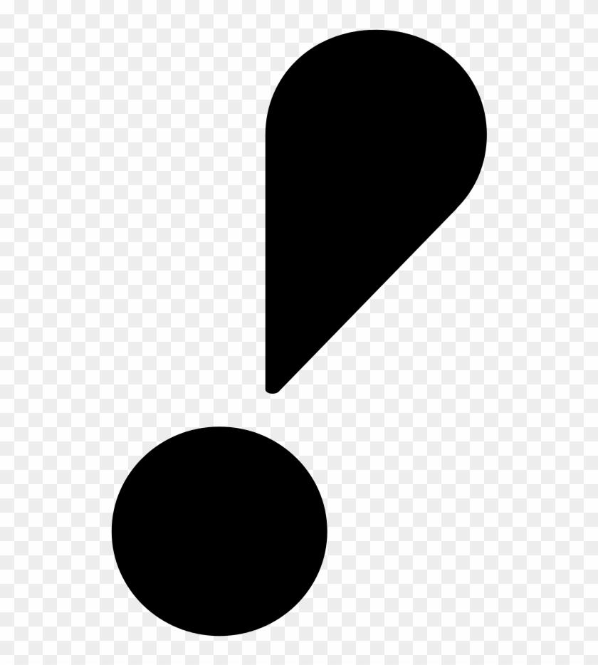 Exclamation Mark Png - Exclamação Png Clipart #304293