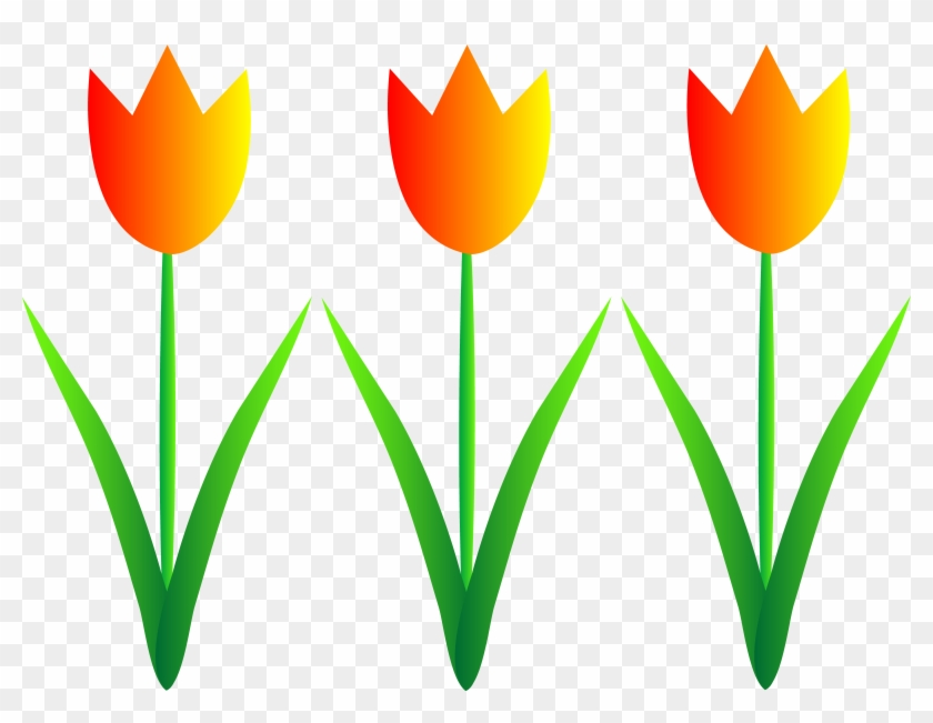 Spring Flowers Clipart - Flowers Clip Art - Png Download #305713