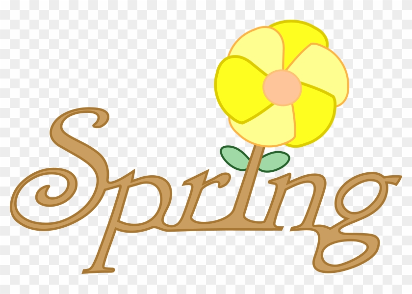 Spring Flower Spring Clipart Graphics Of The Renewal - Cartoon Pictures Of Spring Season - Png Download #306272