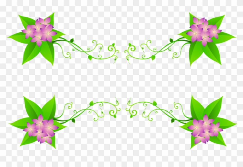 Download Spring Flowers Decoration Png Images Background - Decorations Flowers In Png Clipart #307162