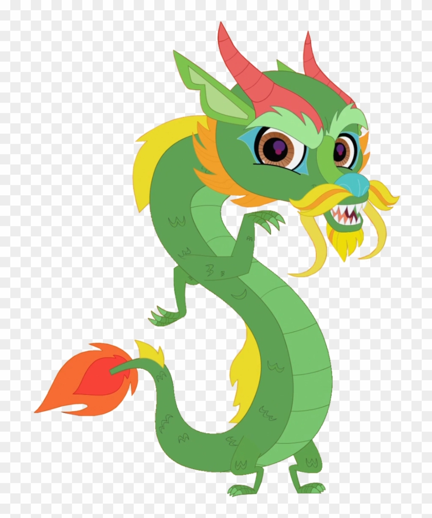 Chinese Dragon Clipart Cartoon Chinese Dragon Vector Cartoon Png Download 308506 Pikpng