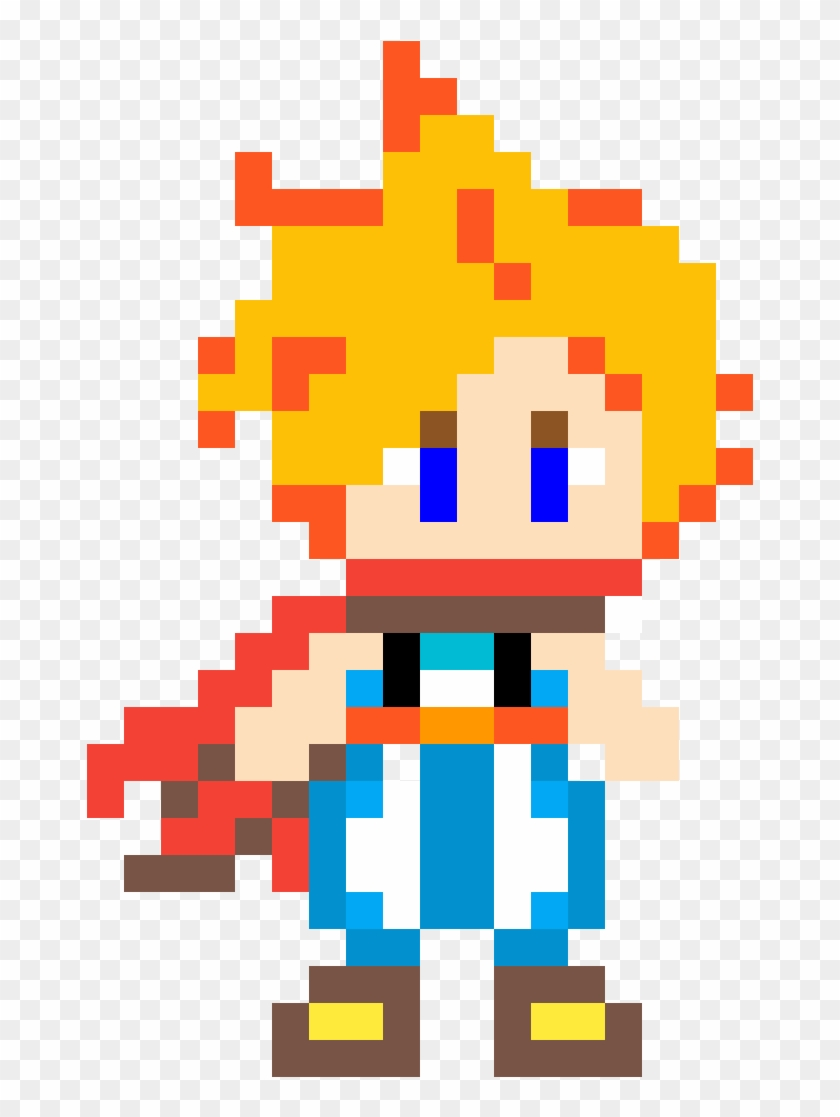 Cloud Strife From Fiinal Fantasy - Cloud Strife Clipart #309056