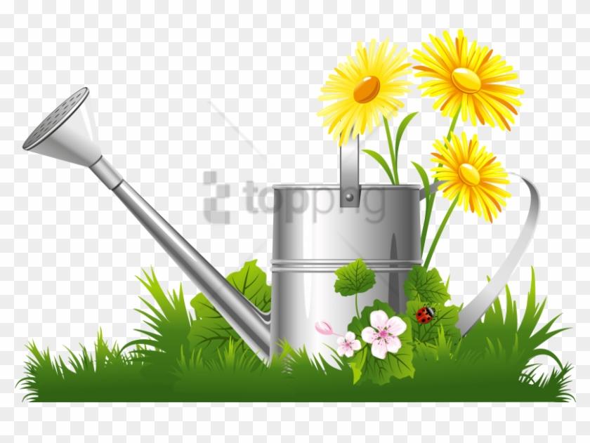 Free Png Spring Png Png Images Transparent - Flowering Garden Clip Art #3002672