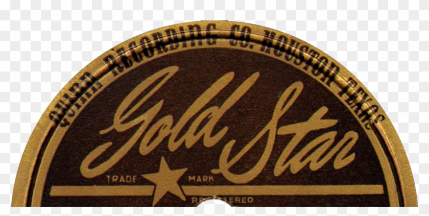 Gold Star - Gold Star Recording Texas Label Clipart #3002896