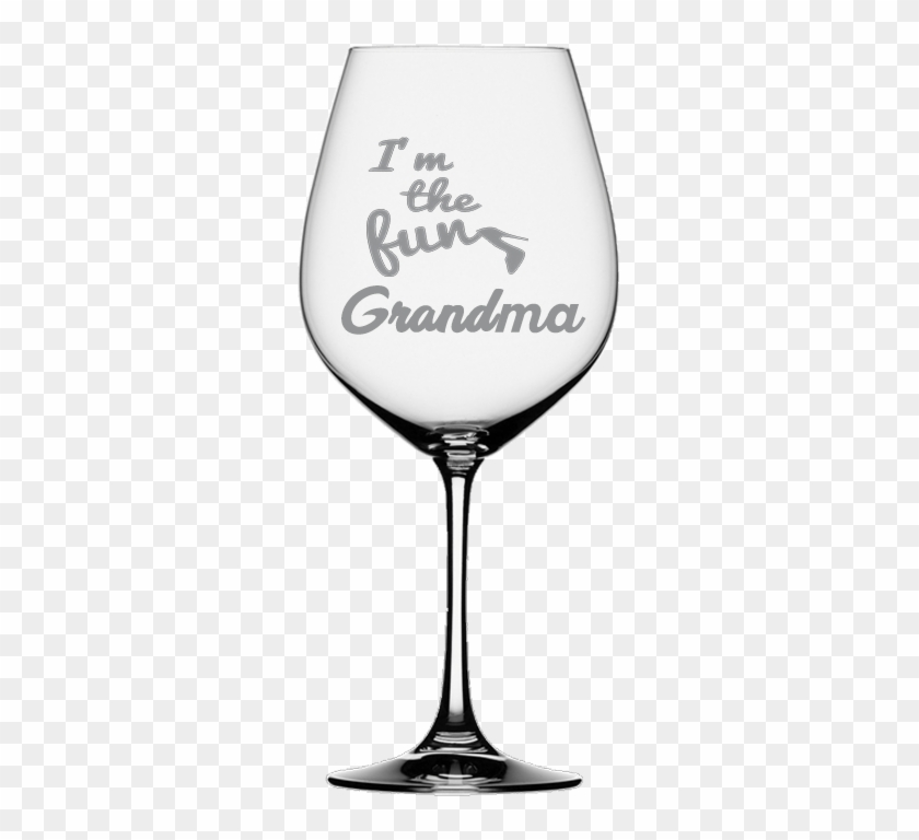 Fun Grandma Wine Glass - Wine Glass Wedding Quotes Clipart #3010879