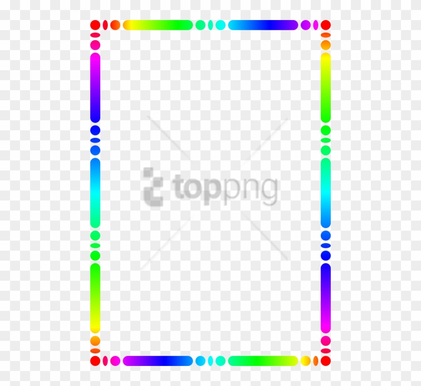 Free Png Colorful Frames And Borders Png Png Image - Colorful Square Picture Frames Clipart #3012373
