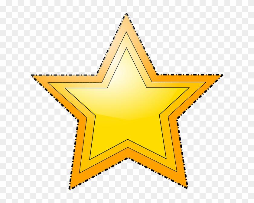 Star, Shapes, Stars, Shape, Estrella, Geometry, Vector - Star Shape Clipart #3012606