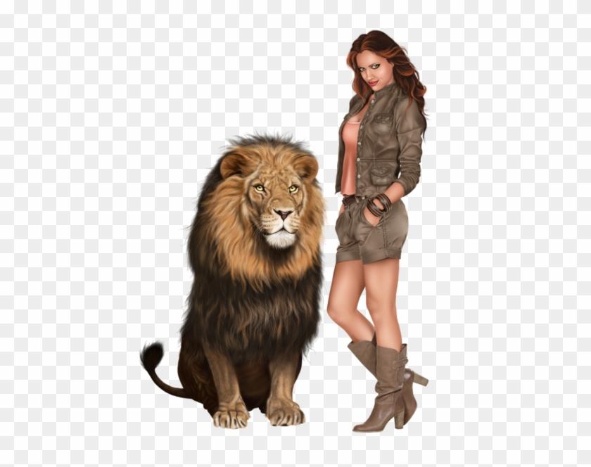 My Pet Lion - Full Hd Lion Transparent Background Clipart #3019679