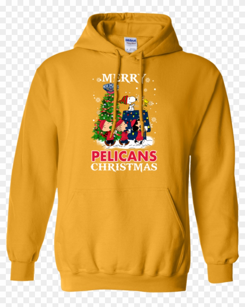 Merry New Orleans Pelicans Christmas Snoopy Ugly Sweater