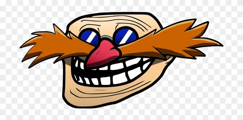Troll Face Eggman Clipart #3026771