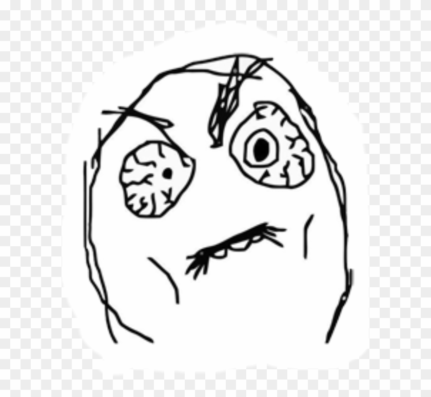 Rage Faces No Background Clipart #3031218
