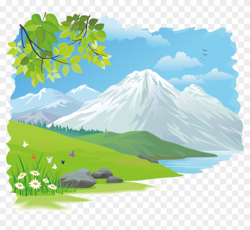 Nature Background Vector Clipart images | Free clip arts