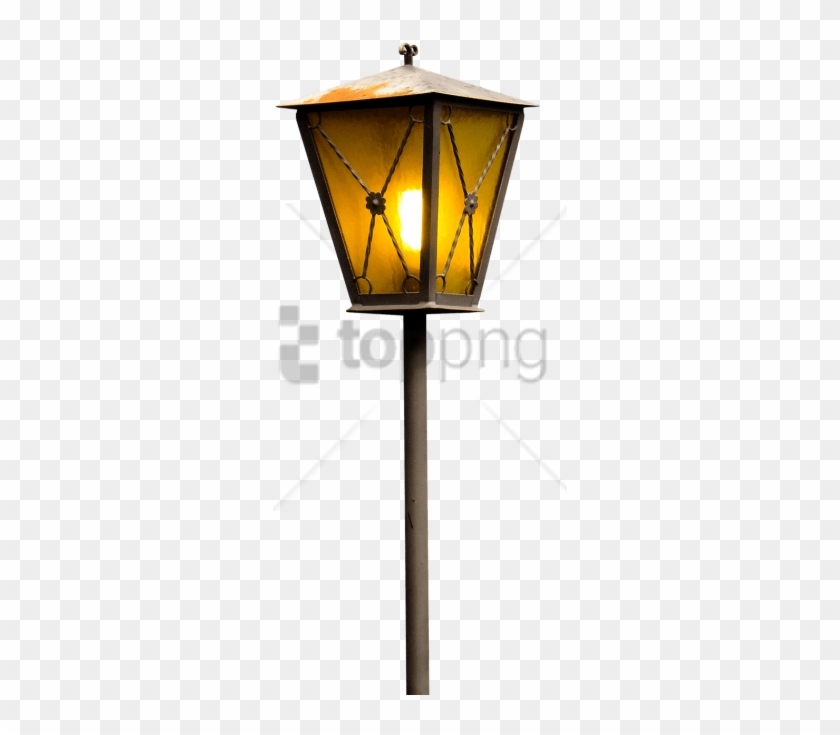 Free Png Download Burning Street Lantern Png Images - Night Light Lamp Png Clipart #3035354