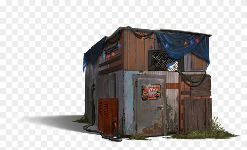 Imagecan We Get Building Variations, So Our Buildings - Eoka Rust Concept Art Clipart #3037162