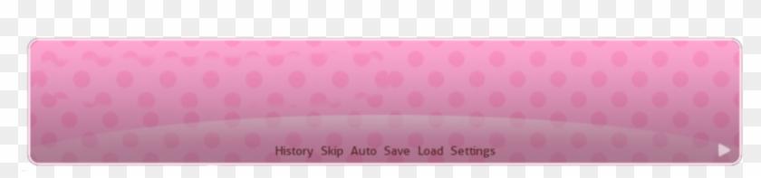Doki Doki Literature Club Text Box Png - Anime Text Box Png Clipart #3046406