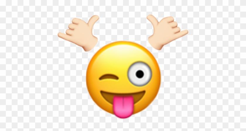 Signal Signaltwice Twice Kpop Emoji Freetoedit - Winking Face With Tongue Emoji, HD Png Download #3047287