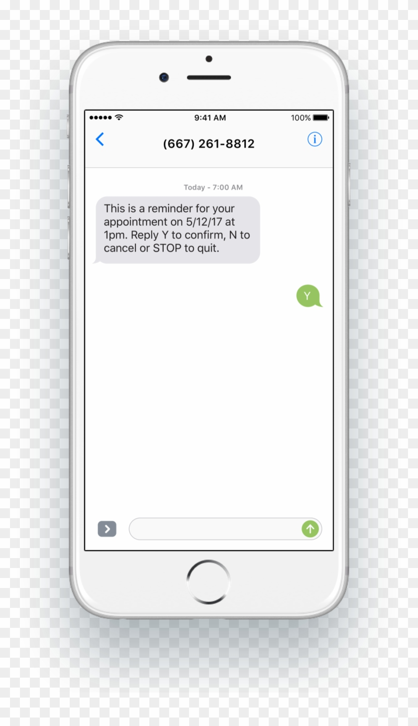 Use Sms To Send A Security Code For Two-factor Authentication - Thank You Sms To Customers Clipart #3048013