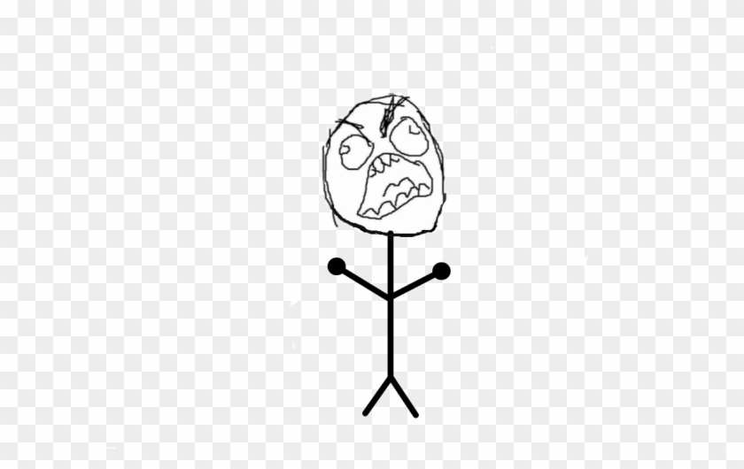 Angry Le Me Face - Rage Clipart #3049925