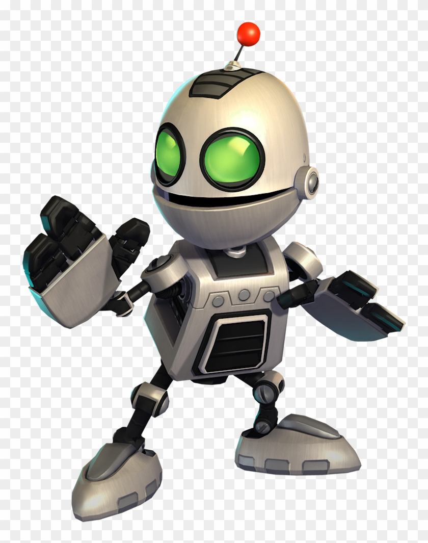 Ratchet & Clank Cartoon Video Games, Video Game Characters, - Clank Ratchet And Clank Clipart #3054982