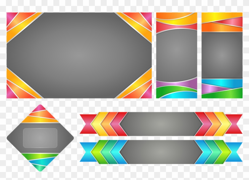 Pictures, Free - Banner Border Designs Png Clipart #3059026