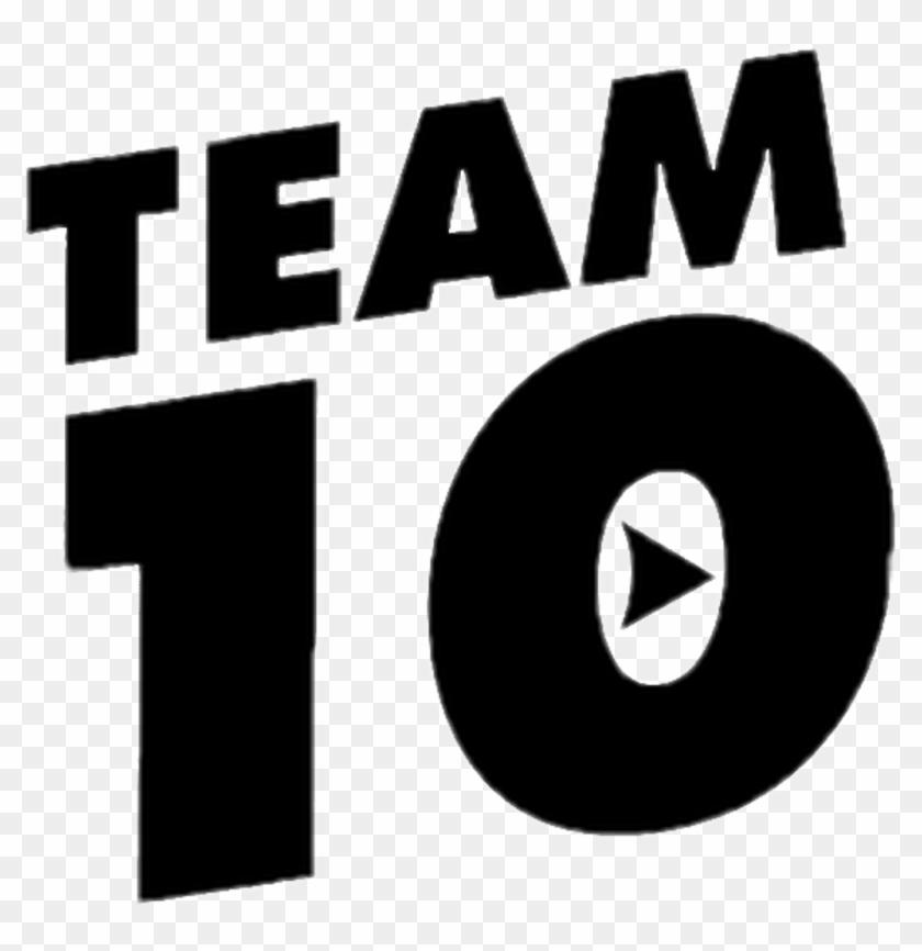 Freetoedit Sticker By Jacksonray Team 10 Logo Black Clipart