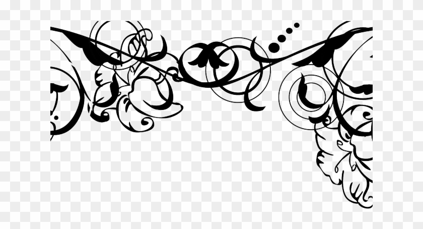 Free Png Wedding Borders - Wedding Border Black And White Png, Transparent Png #3080833