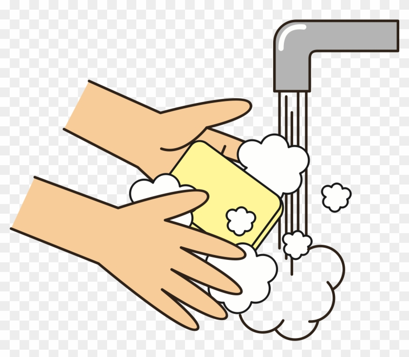 Wash Your Hands With Soap Icons Png Wash Your Hands Clipart