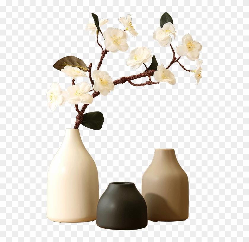 Simulation Plum Blossom Peach Blossom Cherry Blossom - Vase Clipart #3090860