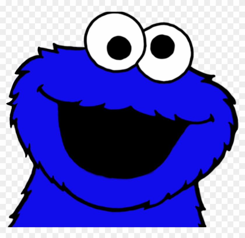 Baby Cookie Monster Cookie Monster Head Png Transparent