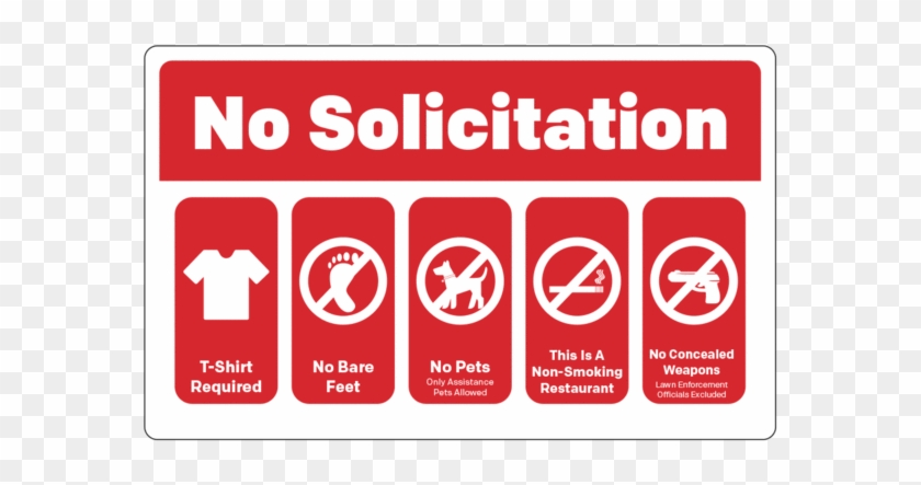 No Solicitation / Rules - ベル Collection Of Golden Songs Clipart #3096538