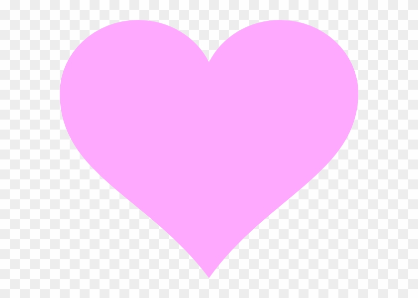 Download Heart Shaped Clipart Traceable - Pink Love Heart Vector ...
