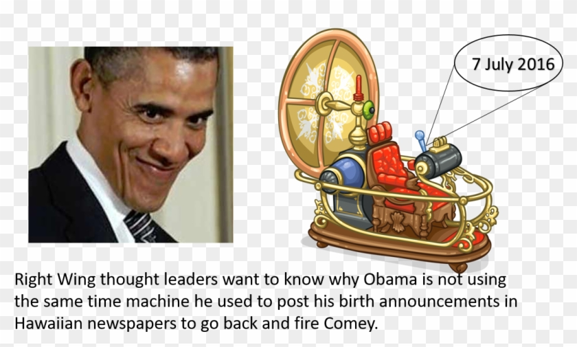 Potus Seeks Help From Obama After Learning Of Time - Time Travel Machine Png Clipart #311258