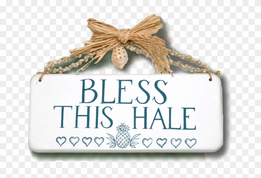 Bless This Hale Wooden Sign - Label, HD Png Download #312381