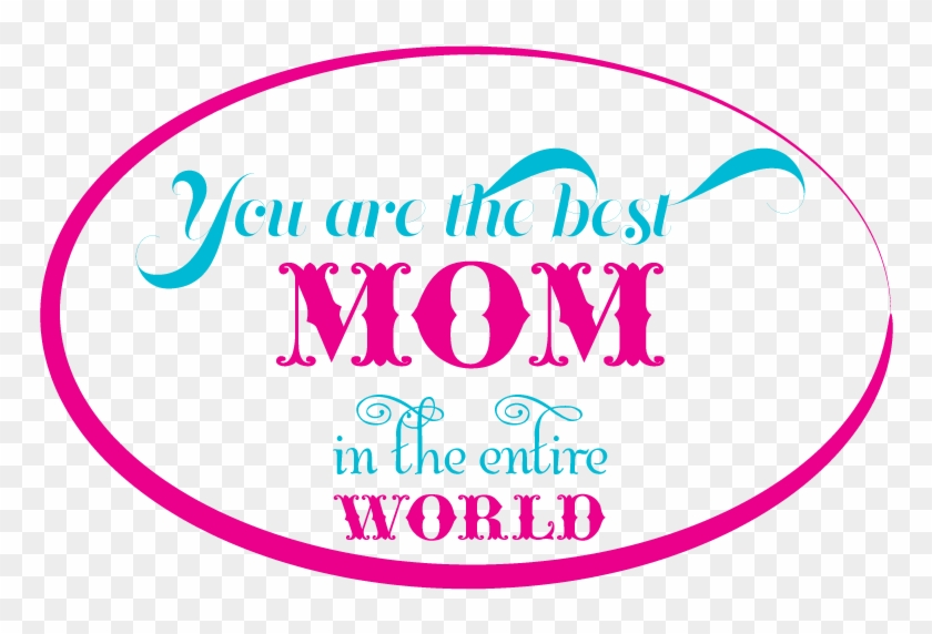 I Love You Mom Png - Circle Clipart #313671