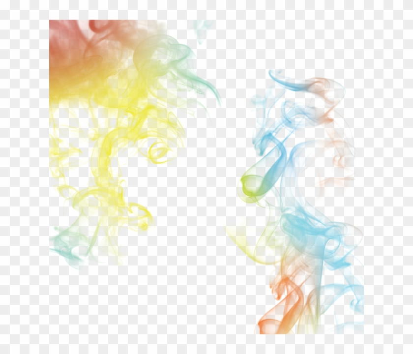 Smoke Illustration Rainbow Concept Design Art Soft - Transparent Smoke Effect Png, Png Download #316113