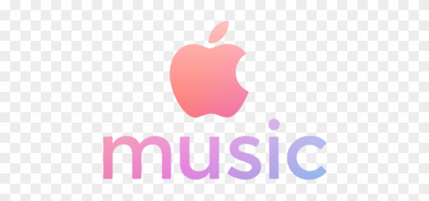 Apple Music Logo Apple Music Logo Pink Clipart 316753 Pikpng