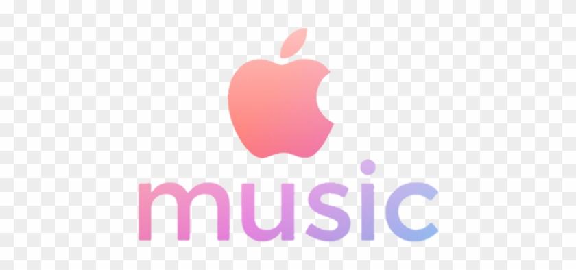 Apple Music Logo - Apple Music Logo Pink, HD Png Download #316753