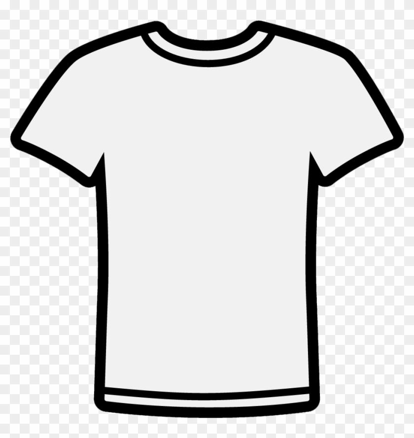 T Shirt Clip Art Of A Shirt Clipart Image - White T Shirt Clipart Png Transparent Png #318091
