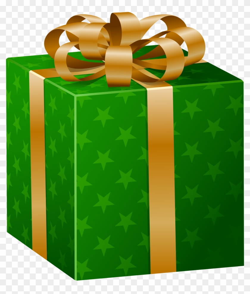 Green Gift Box Png Clip Art Image Christmas Gift Box Green Transparent Png 318579 Pikpng