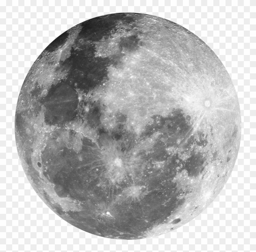 Moon Png - Transparent Background Full Moon Png, Png Download #319839
