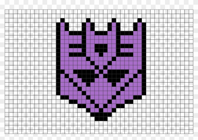 Transformers Logo Pixel Art Hd Png Download 3102657 Pikpng