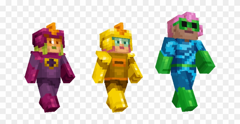 The Incredibles Skin Pack Is Out Today You Can Find - Mrs Incredible Minecraft Skin Clipart #3105274