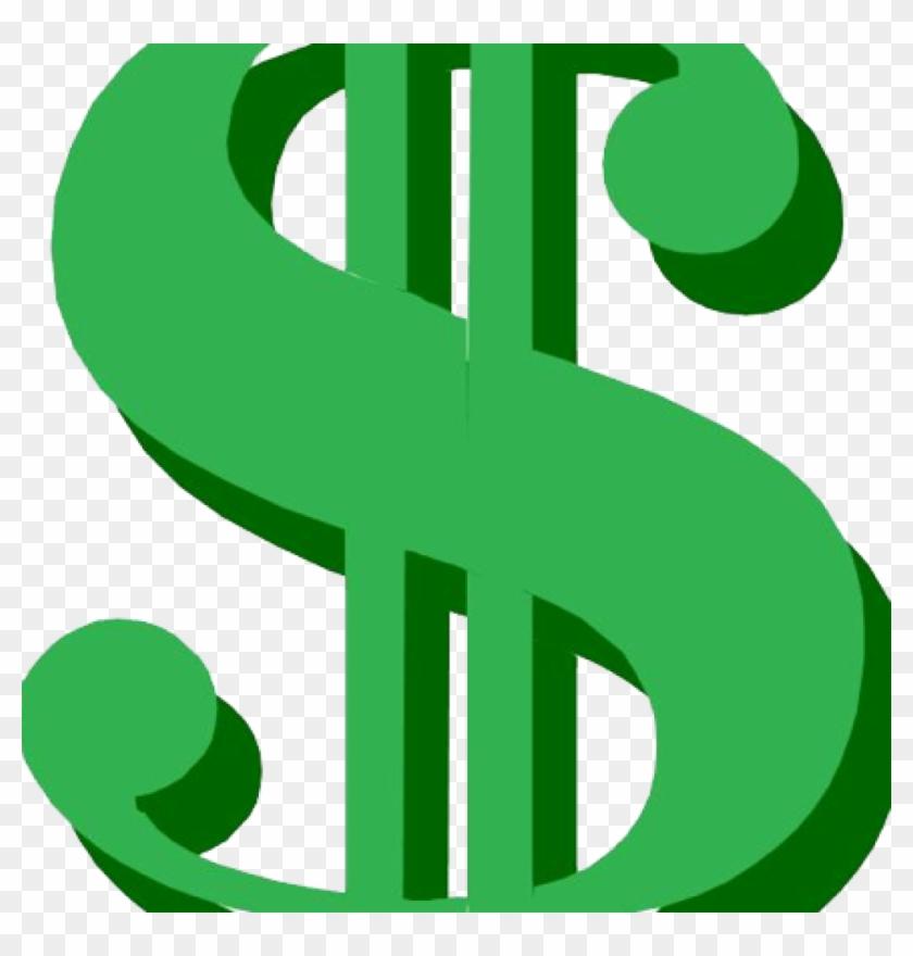 Dollar Sign Clipart Transparent - Dollar Sign Clipart Transparent Background - Png Download #3106290